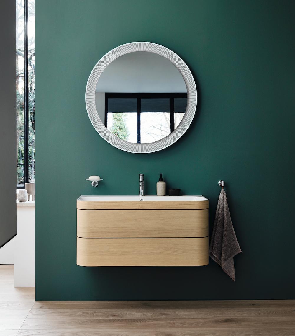 Tips voor hygiene in de badkamer. Duravit spiegel contactloze bediening #duravit #spiegel #badkamermeubel #wastafel