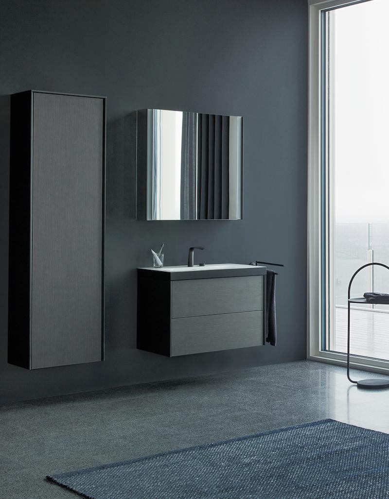 Opbergjuweeltjes voor de badkamer. Duravit Viu XViu badkamerkast #badkamer #badkamerinspiratie