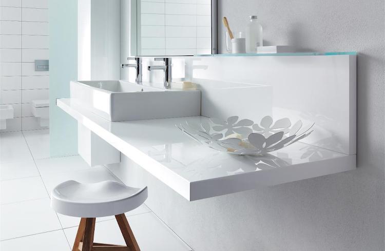 Alles over wastafels en waskommen voor de badkamer. Duravit wastafels #wastafel #badkamer #waskom #badkamerinspiratie