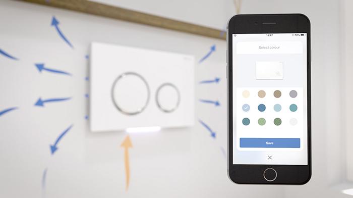 Regulier vieze geurtjes op het toilet met de Geberit Home-App duofresh!