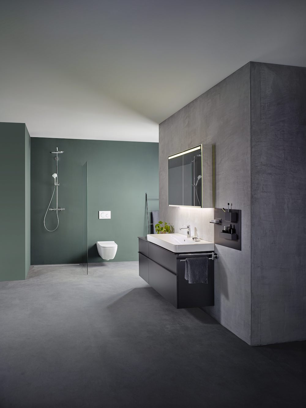 Badkamerserie Geberit Smyle #badkamer #badkamermeubel #toilet #wastafel #geberit #smyle