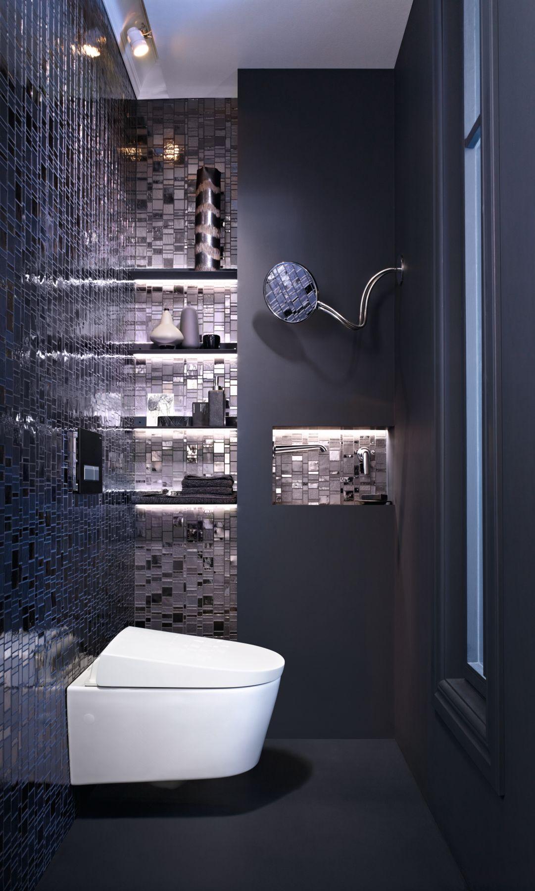 Toilet met toiletdouche AquaClean Geberit