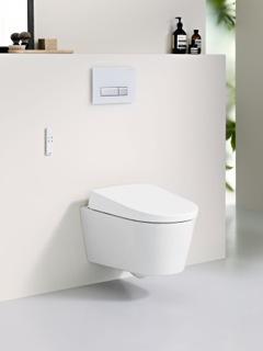 Toilet Geberit met toiletdouche AquaClean Sela