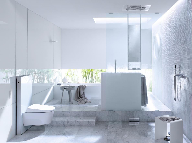 Geberit Aqua Clean badkamer