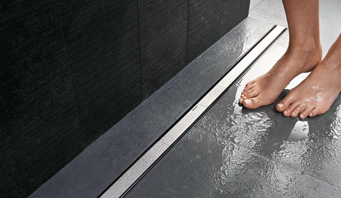 Design douchegoot voor de inloopdouche - Geberit Cleanline