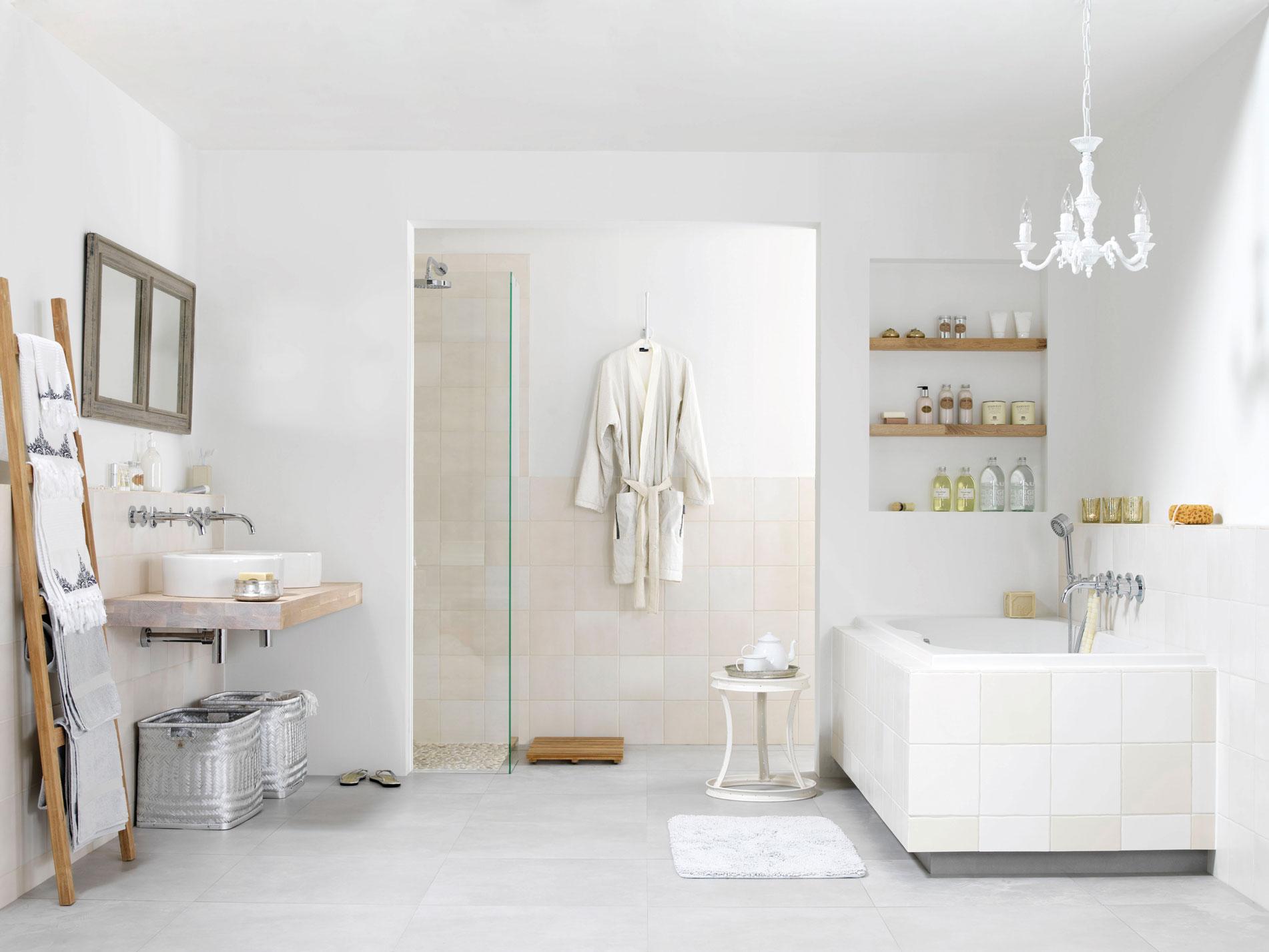 : badkamer in romantische stijl - Nieuws Startpagina voor badkamer ...