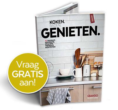 Grando keuken en badkamer inspiratie boek gratis in de bus - Gratis huis deco magazine ...