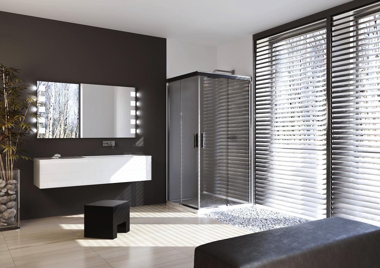 Nieuwe kleuren HÜPPE douchewanden - Nieuws Startpagina voor badkamer ...