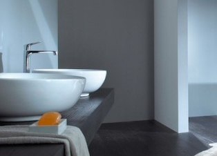 Badkamer natuursteenlook