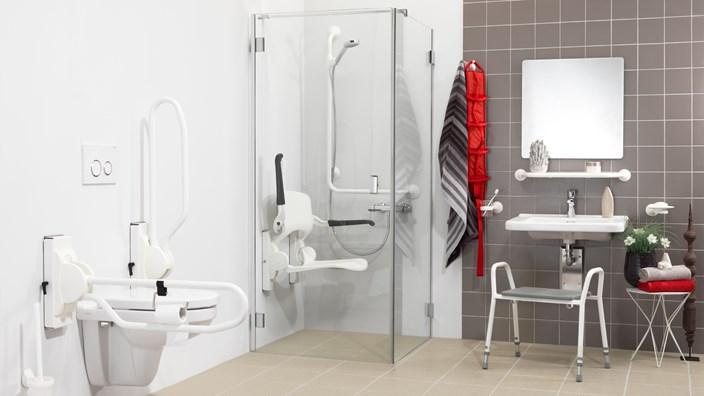 Aangepaste badkamer Handicare