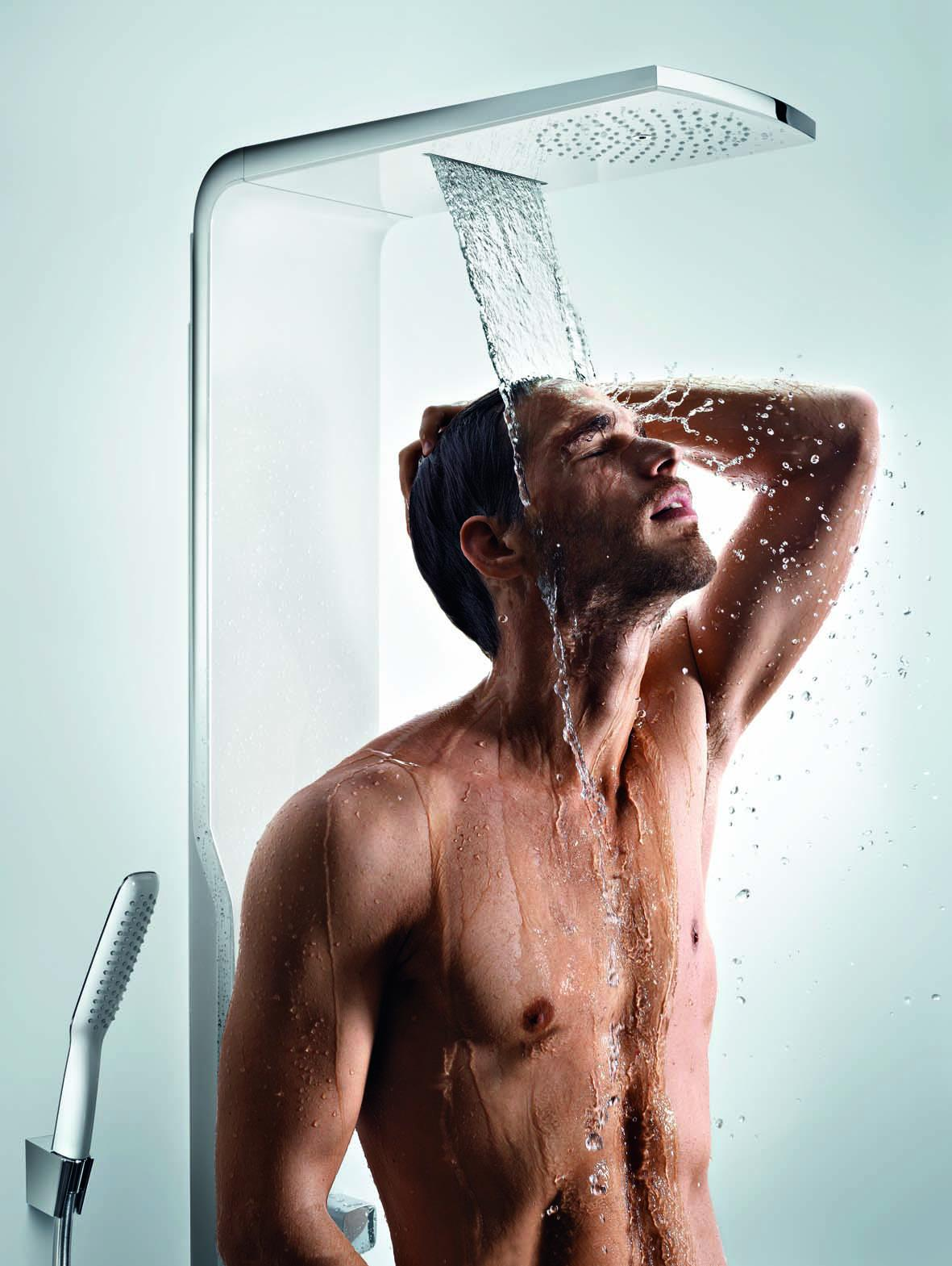 Hansgrohe Raindance lift douchepaneel