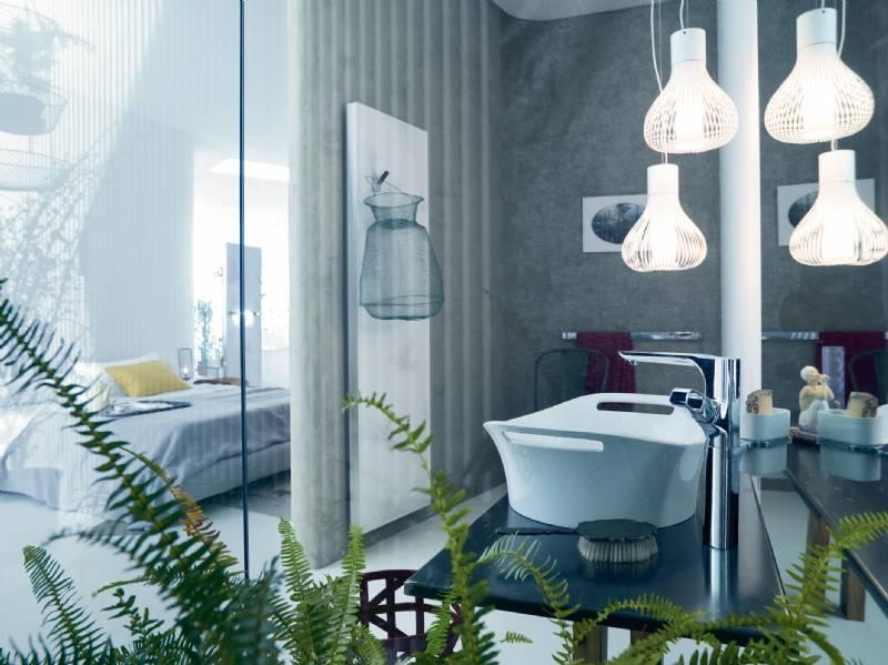 Badkamer Met Slaapkamer : T titanio vloer tegel vloertegel decor wand badkamer