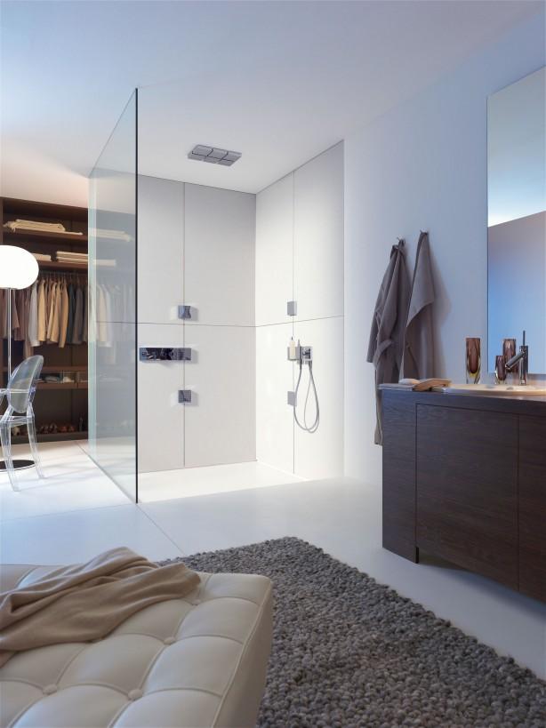 Interieurtrend badkamer en slaapkamer in n ruimte nieuws startpagina voor badkamer idee n - Glazen kamer bad ...