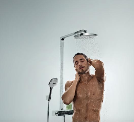 Luxe handdouche Hansgrohe Raindance Select E 120