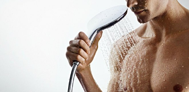 Handdouche Raindance van Hansgrohe