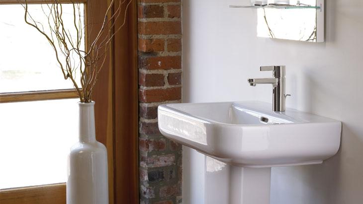 Hansgrohe kraan voor de badkamer Metris S #badkamerkraan #hansgrohe