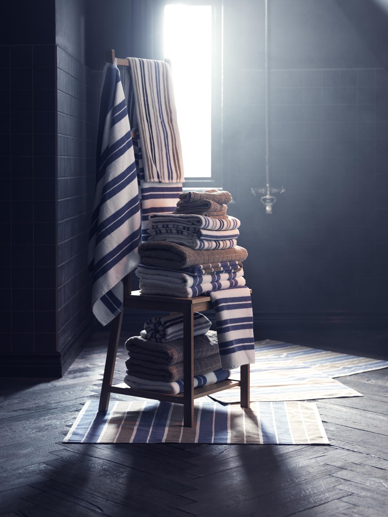 Heerlijk warme badhanddoeken van Ikea