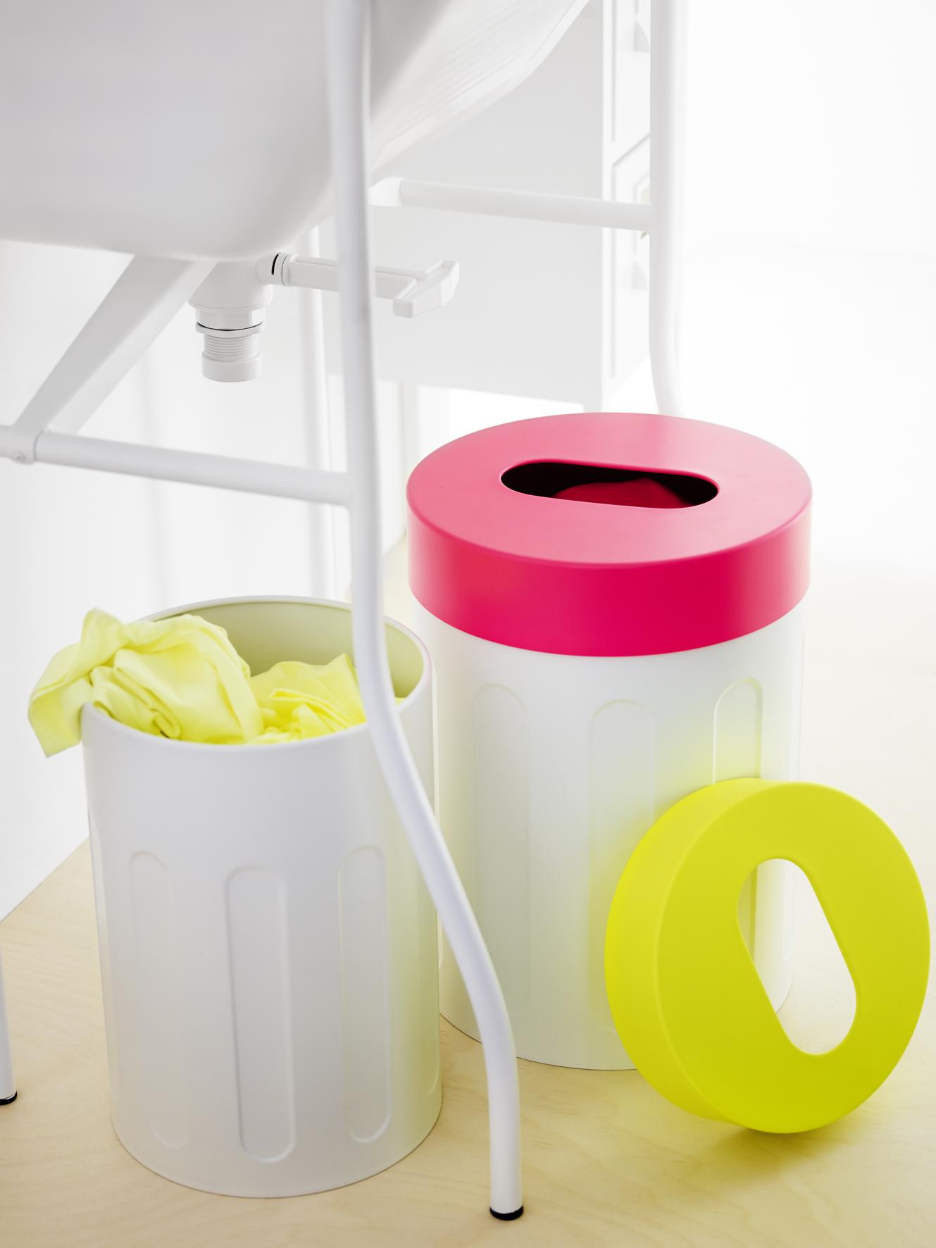 Ike opbergers voor de badkamer: SPRUTT opbergkrukken