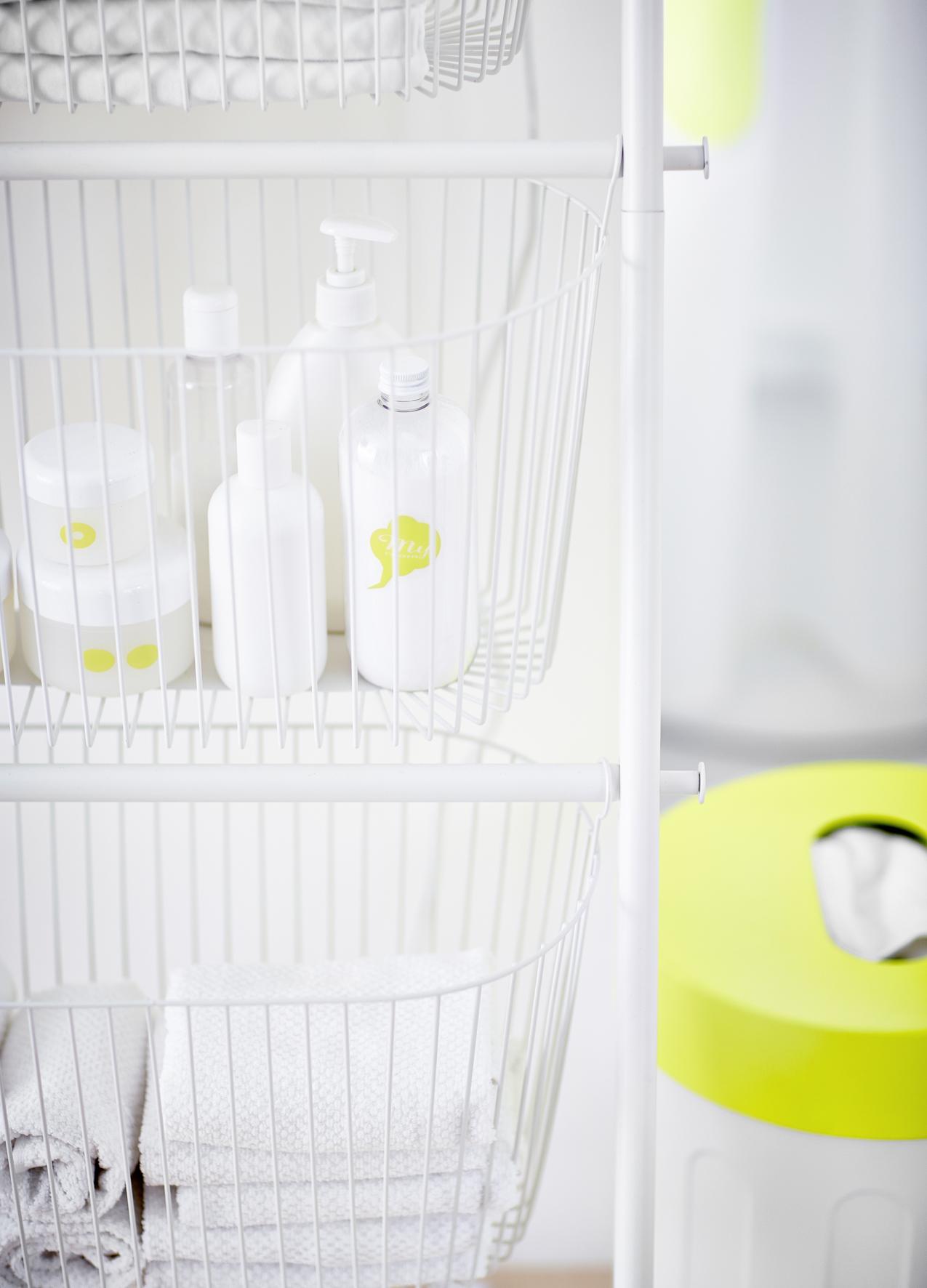 Badkamer opruimen met handige SPRUTT opbergers van IKEA