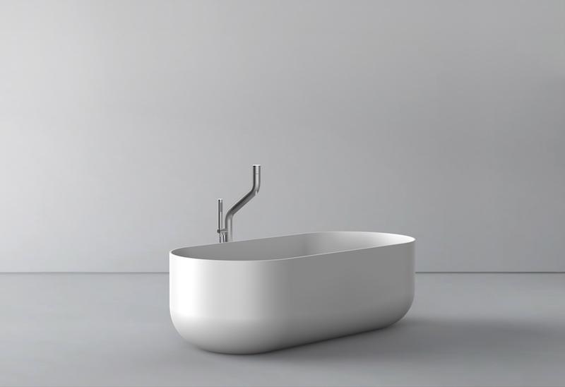 Nieuwe serie design kranen voor de badkamer van Jee-O - Flow series Dutch Design in samenwerking met Italiaanse designer Brian Sironi #wastafel #kraan #jeeo