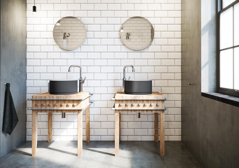 Badkamerinspiratie. Designkranen voor de badkamer soho RAW van JeeO #badkamerinspiratie #badkamer #designkranen #kranen #douches #jeeo