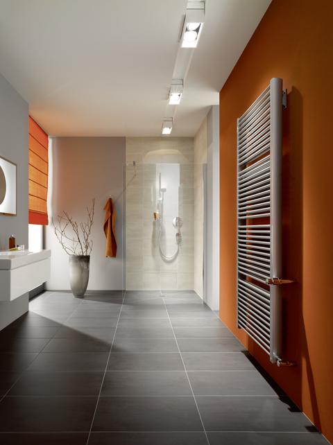 Designradiator voor de badkamer Duett van Kermi