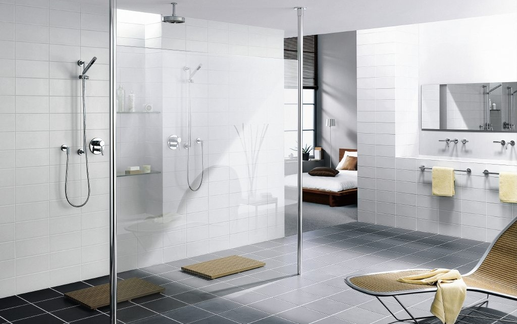 Ideeen Badkamer Renovatie : Inloopdouches badkamer ideeën uw badkamer.nl