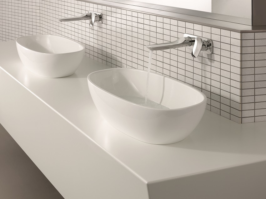 praxis wastafelkranen: kranen voor badkamer en keuken, Badkamer