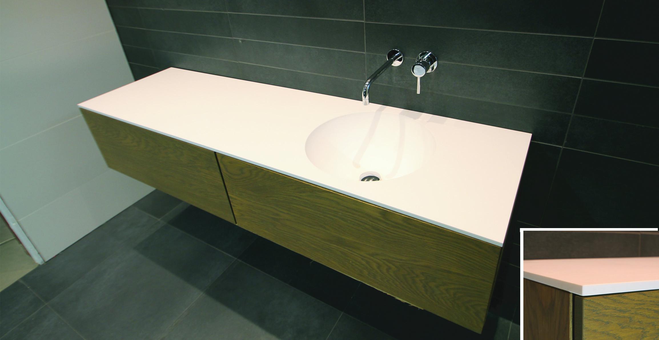 Hi macs badkamermeubel badkamer ontwerp idee n voor uw huis samen met meubels die - Wastafel badkamer ontwerp ...