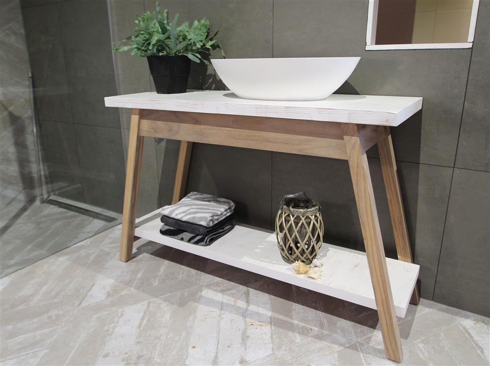Badkamer Met Hout : Badkamer met hout regendouche glazen wand badkamermeubel
