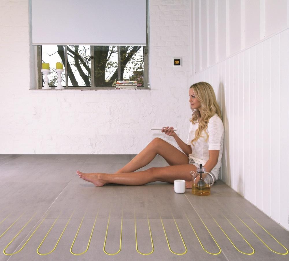 Elektrische vloerverwarming met matten van Magnum Heating