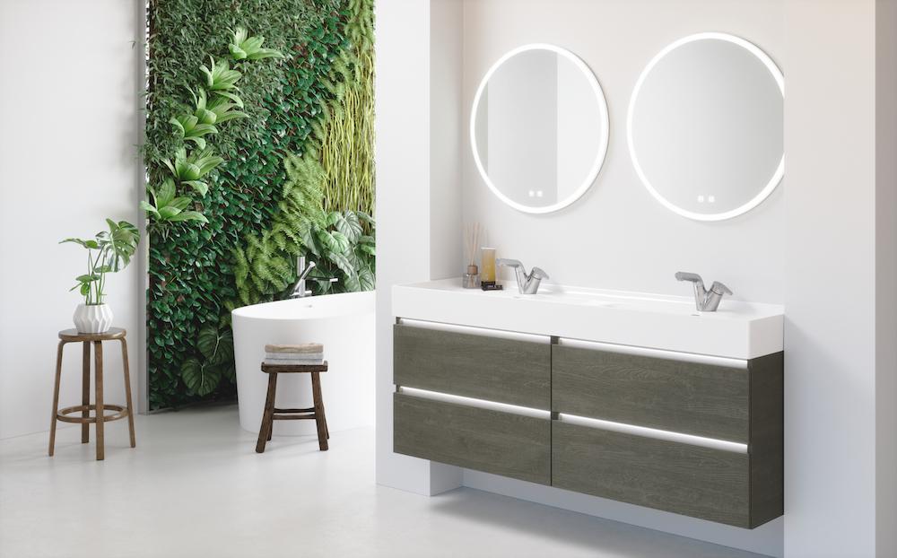 Duurzame en groene badkamer. mijn bad in stijl #badkamer #duurzaam #groen #badkamerinspiratie #badkameridee