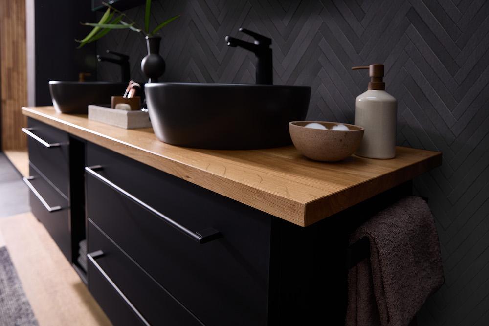 Duurzame en groene badkamer. mijn bad in stijl #badkamer #duurzaam #badkamermeubel #hout #badkamerinspiratie #badkameridee