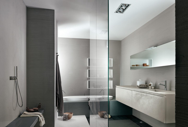 Badkamermeubel Twenty van het Italiaanse merk MODULNOVA kenmerken zich door een samenspel van vorm, design, elegantie, creativiteit en functionaliteit.