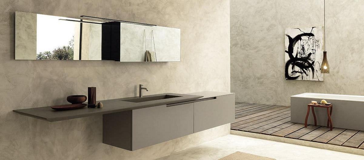 Italiaans design in de badkamer: badkamermeubel Moon Cross van ...