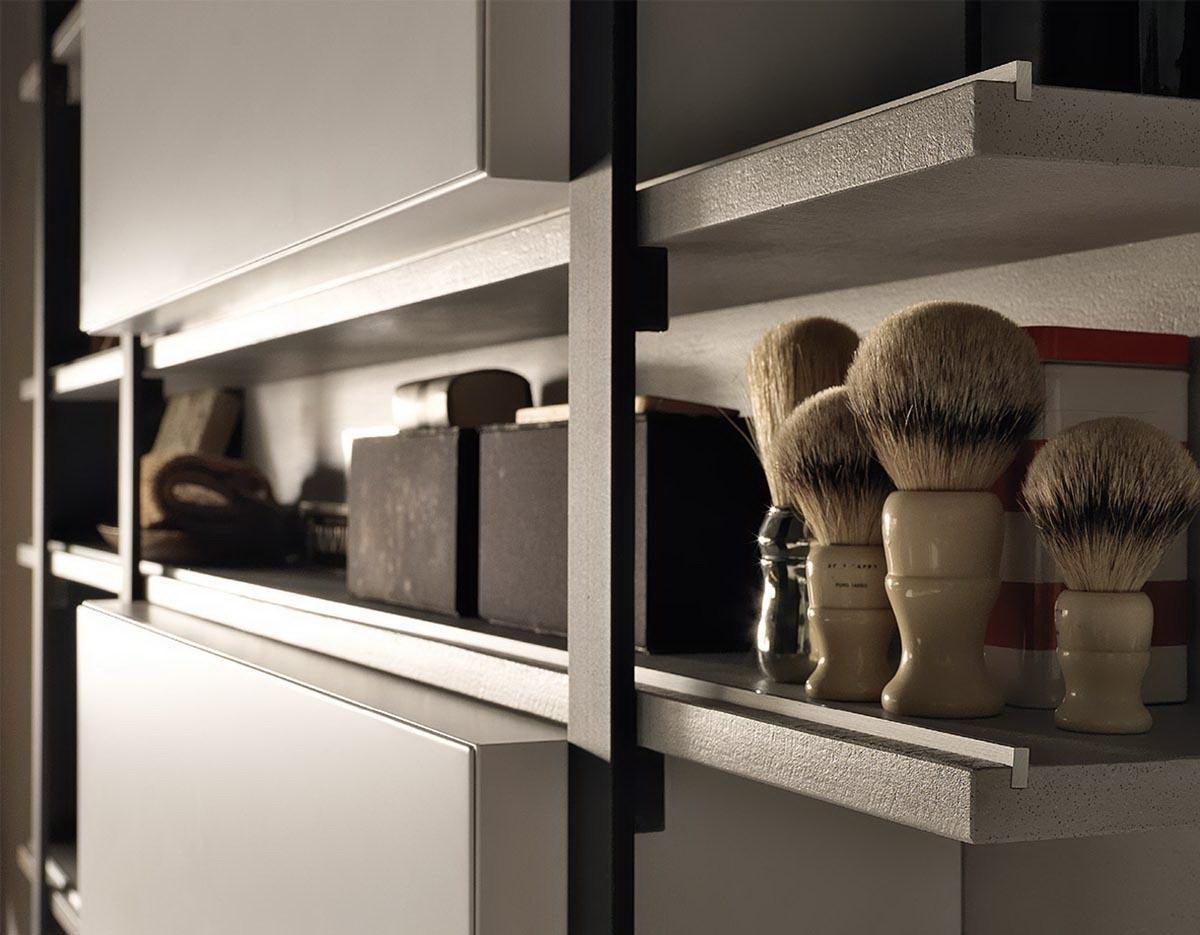 Italiaans design voor de badkamer van modulnova nieuws for Spiegelkast voor badkamer