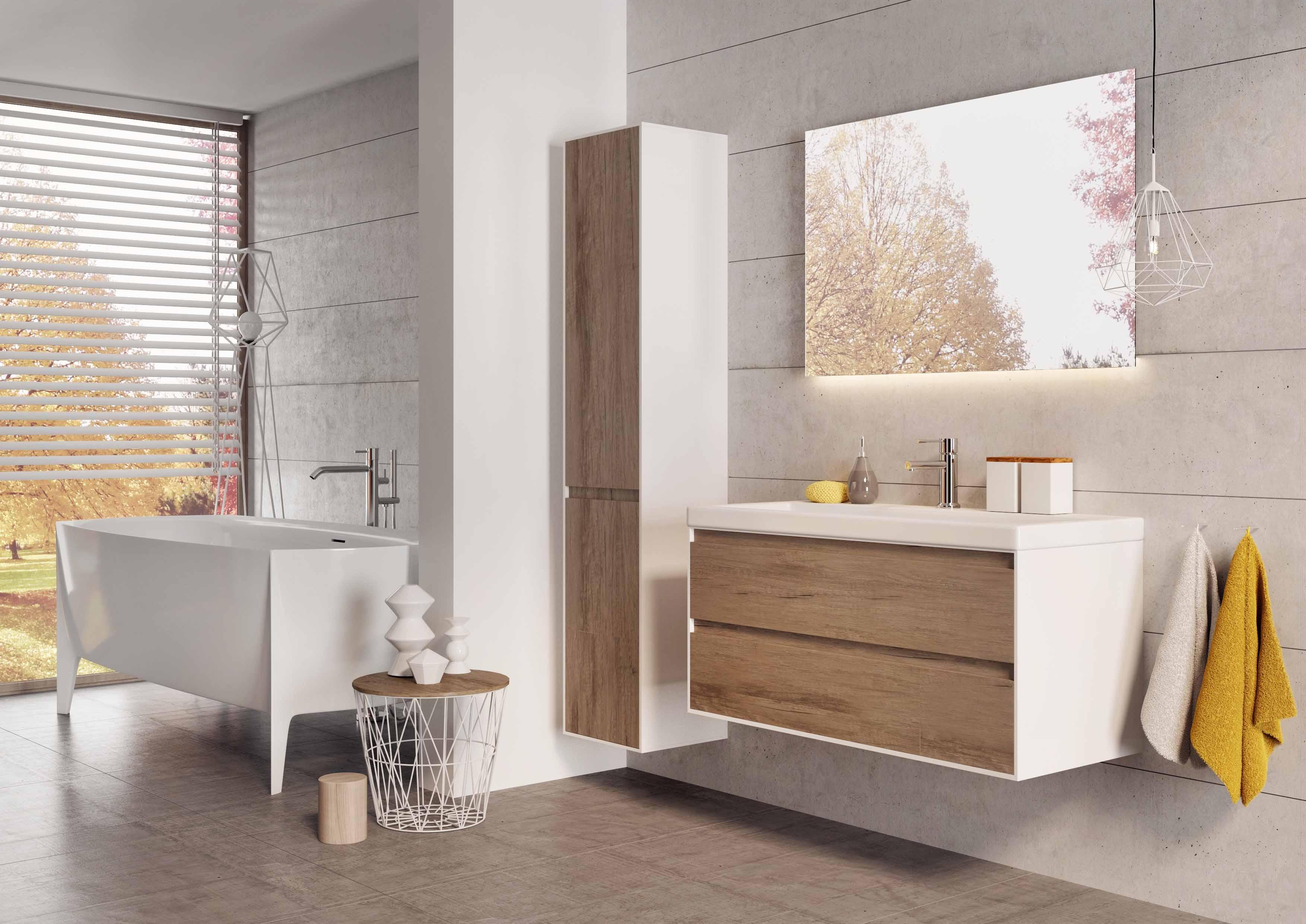 Stijlvol badkamermeubel Cover up van H&R Badmeubels