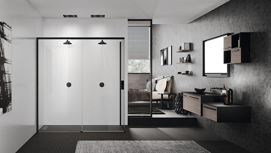 Schuifdeur Voor Badkamer : Schuifdeur voor de douche kopen sanitairwinkel
