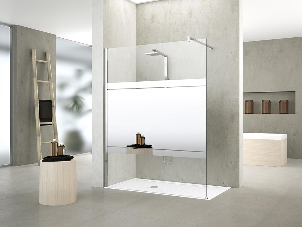 Badkamer Douchewand Glas : Onderhoud glazen douchewand elegant diamond xcm gebogen helder