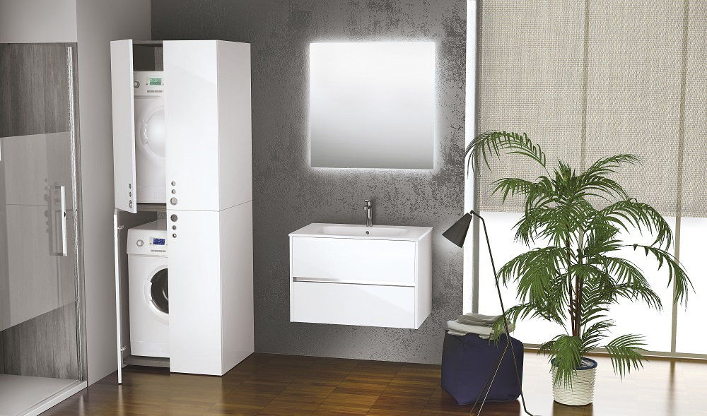 Badkamermeubel Met Badkamer : Mooi van novellini: wasmachinekasten bij je badkamermeubel nieuws