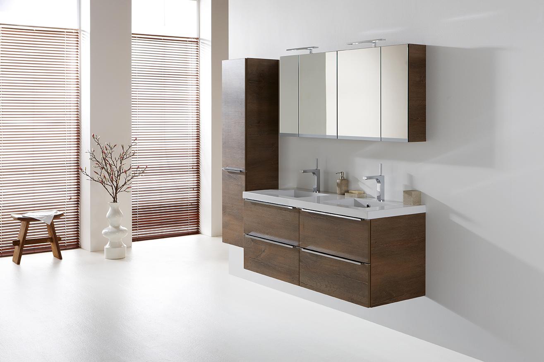 Primabad badkamermeubel EXCLUSIVE in nieuwe kleur Nautic Oak