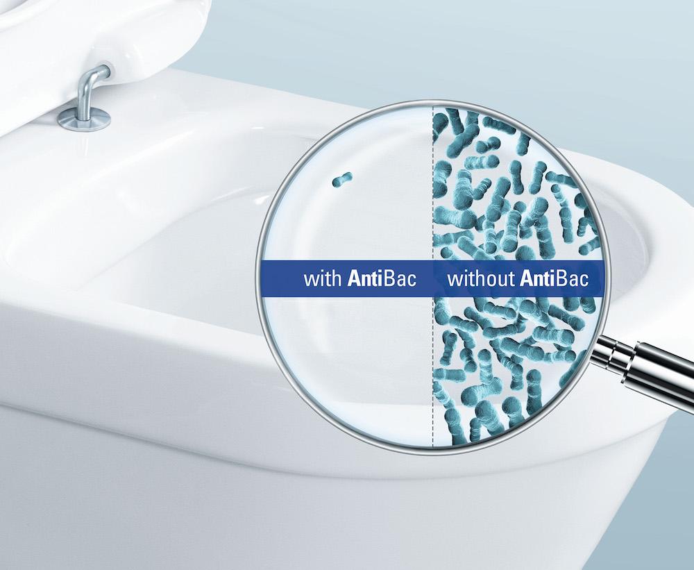 Villeroy Boch toilet antibacterieel