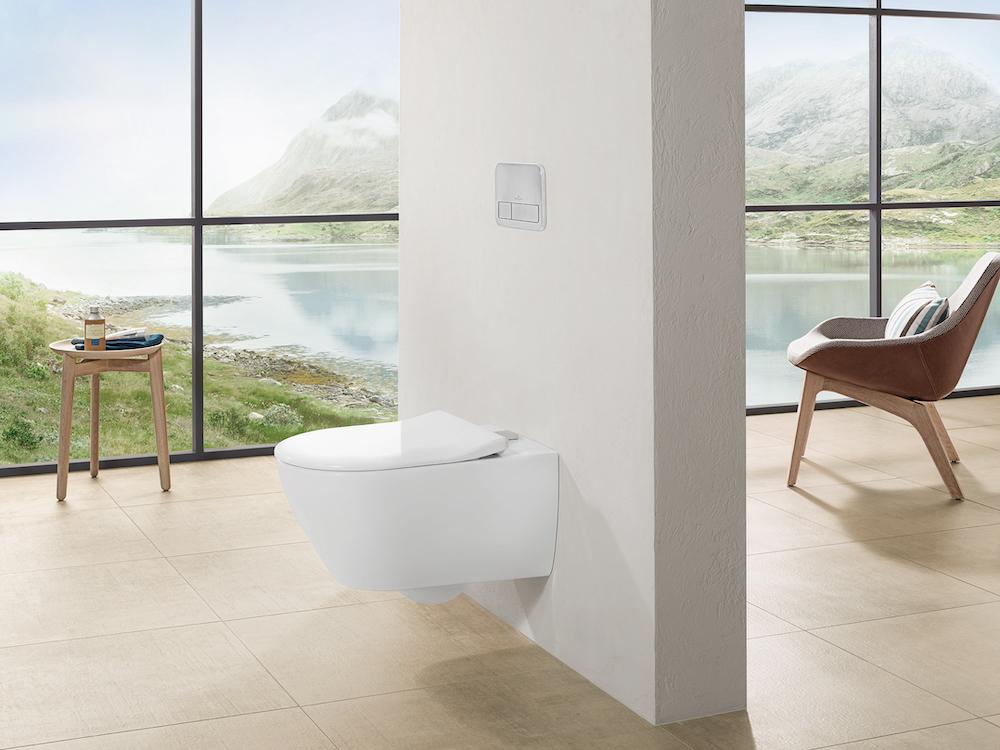 Villeroy boch toilet vicare VIFRESH SLIMSEAT via Sanidrome #villeroyboch #toilet #sanidrome