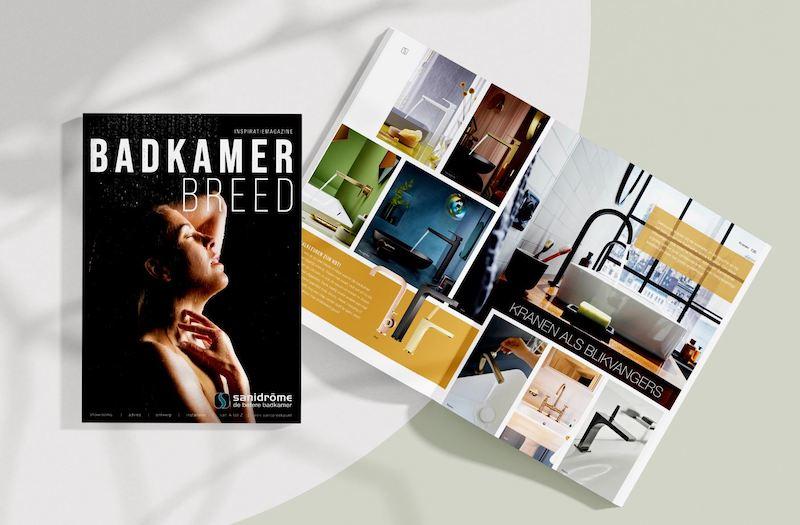 Badkamerbreed badkamer inspiratie magazine Sanidrome #sanidrome #badkamer #badkamermagazine #badkamerbreed
