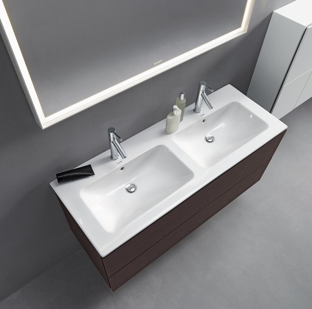 Desig wastafel ontworpen door Philippe Starck voor Duravit. ME by Starck wastafel-serie voor de badkamer #design #wastafel #starck #philippestarck #badkamer