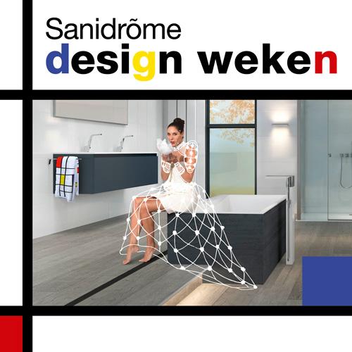 Sanidrome design weken met mooie acties #design #badkamer #badkamerinspiratie