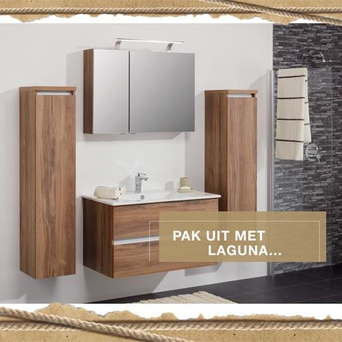 Eindejaarsweken Sanidrome Laguna spiegelkast voor prijs van een spiegel  #badkamer #sanidrome