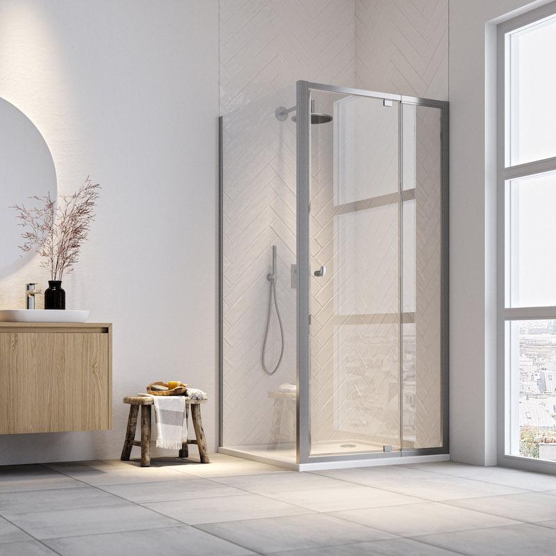 Sealskin douches met geïntegreerde handdoekhouder hooked. #sealskin #hooked #douche #douchecabine #inloopdouche