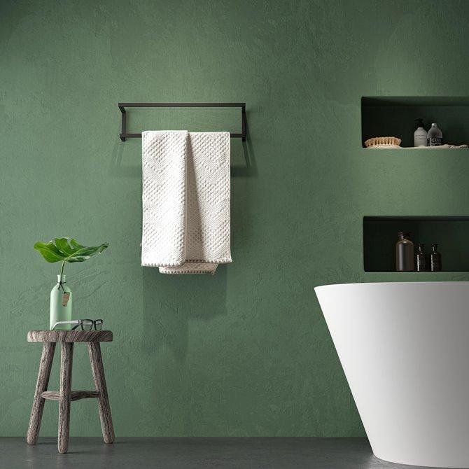 Handdoekrek badkamer in verschillende modellen. Sealskin Carre #sealskin #badkamer #handdoekrek #handdoekrekje