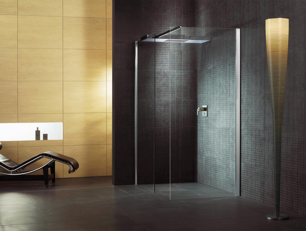 Badkamer Ideeen Zonder Tegels : Douchewanden Startpagina voor badkamer ...